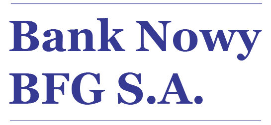 Bank nowy BFG logo