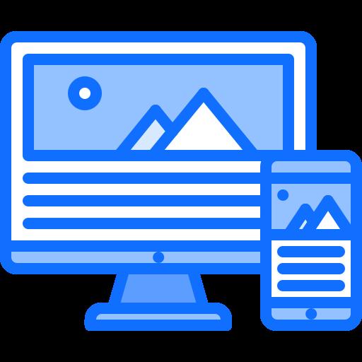 responsive design logo
